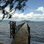 The jetty out to sea