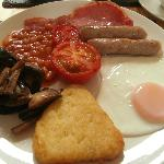 The hearty Cumbrian brekkie