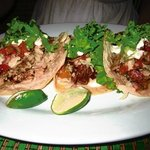 Really good pork and beef tacos