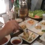 Gung, The Palace - Huge array of dips with a barbeque