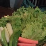 Not to forget the veggies. Balance! Balance!