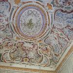 Il soffitto della sala eventi