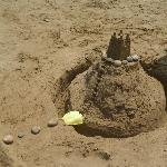 Sandcastles on Stalis beach