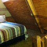 Spacious loft room.