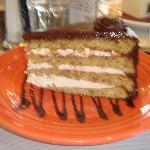 Hazelnut Torte - I would liken this to Tiramisu - Delish!