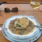 Kidney Stew & Semmelknödel - delicious!!!