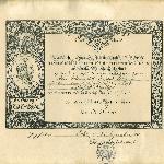 Urkunde von Kaiser Wilhelm I