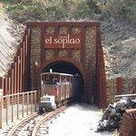 Tren mina el Soplao
