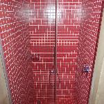 Shower with nice light