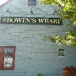 Just across the hotel, Bowen's Wharf area: Shopping, restaurants & bars