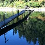 footbridge over the Smith River