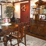 Charming Dining Room and great food