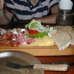 Starter - Czech meat & cheese platter