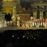 Aida at Arena di Verona in just a minute walk