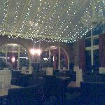 Conservatory dining area