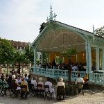 Летняя веранда для концертов в Бадене