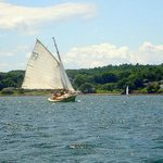 Anna R. sailing in Rockland Harbor