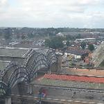 York Train Station From Above