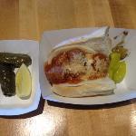meatball sandwhich -- yum!!