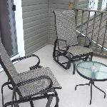 The balcony again