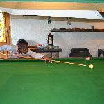 snooker area
