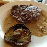 Rib Eye Steak (not a winner :-( )