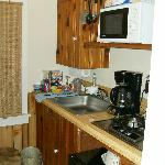 neat kitchenette