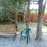 yard - cabin 6