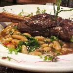 Lamb Shank and White Beans
