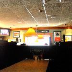 interior of the restaurant/pub
