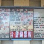 oops, no gizzards, but here's the menu and prices as of 08/27/12
