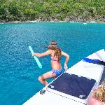Flygirl snorkel trip St Johns