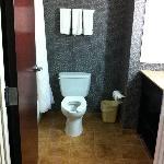 Very large, clean bathroom