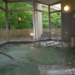 青井岳大浴場緑\