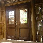 Puerta de entrada de la posada