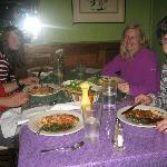 A selection of meals enjoyed at Julias