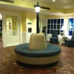 cool round sofa in lobby 7/27/12