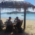 Beach side BBQ