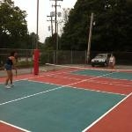 pickle ball at circle m