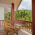 balcony....