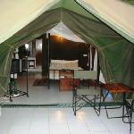 Tent - External Lounge