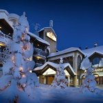 Lapland Hotel Riekonlinna outside winter