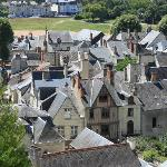 Chinon from the fortress