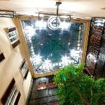Atrium Blick nach oben