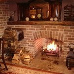 At its best, a cheerful fire and no crowds.  Another pint, please.