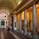 Innerhof - Zugang zum Amaranto Romano.