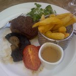 Fillet steak - perfectly cooked