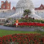 Botanical Gardens were lovely.   What a great way to spend your first morning in Belfast!  All w