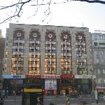 Front of hotel - Kreschatyk St