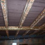 Ceiling of restaurant